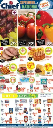 Chief Supermarket deals in the Wauseon OH weekly ad