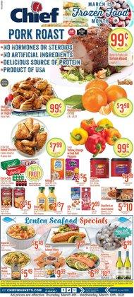 Chief Supermarket catalogue ( 1 day ago )