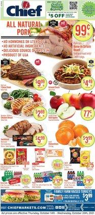 Chief Supermarket deals in the Chief Supermarket catalog ( 3 days left)