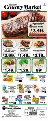 County Market deals in the Hammond IN weekly ad