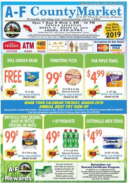 Grocery & Drug deals in the County Market weekly ad in Seattle WA