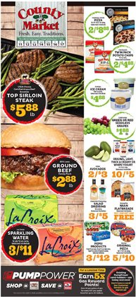 County Market deals in the Champaign IL weekly ad