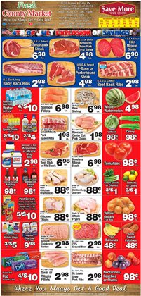 County Market catalogue ( Expires tomorrow )