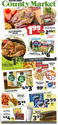 Grocery & Drug deals in the County Market catalog ( Expires today)