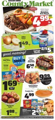 Grocery & Drug deals in the County Market catalog ( 4 days left)
