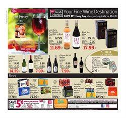 Rosé wine deals in the D&W Fresh Market weekly ad in New York