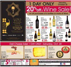 Wine deals in the D&W Fresh Market weekly ad in New York