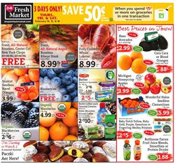 Valentine's Day deals in the D&W Fresh Market weekly ad in New York