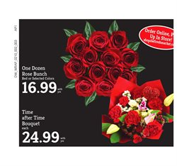 Flower deals in the D&W Fresh Market weekly ad in New York
