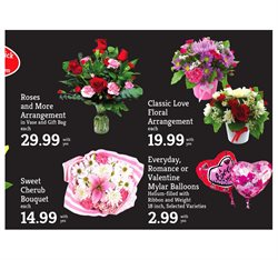Balloon deals in the D&W Fresh Market weekly ad in New York