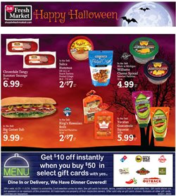 halloween candy deals in the D&W Fresh Market catalog ( 3 days left)