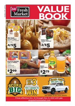 Grocery & Drug deals in the D&W Fresh Market catalog ( 22 days left)