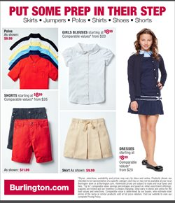 Blouse deals in the Burlington Coat Factory weekly ad in Los Angeles CA