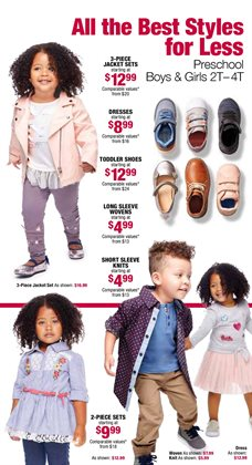 Dress deals in the Burlington Coat Factory weekly ad in New York