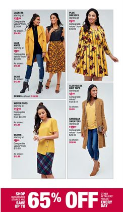 Skirt deals in the Burlington Coat Factory weekly ad in Daly City CA