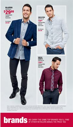 Shirt deals in the Burlington Coat Factory weekly ad in Los Angeles CA
