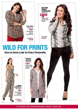 Fashion deals in the Burlington Coat Factory weekly ad in New York