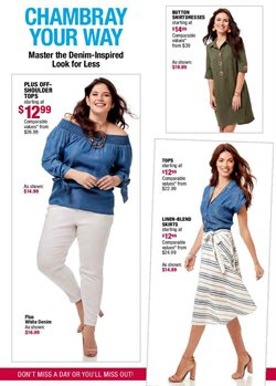 Women's winter clothing deals in the Burlington Coat Factory weekly ad in Acworth GA