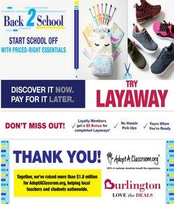 Burlington Coat Factory deals in the Burlington Coat Factory catalog ( 8 days left)