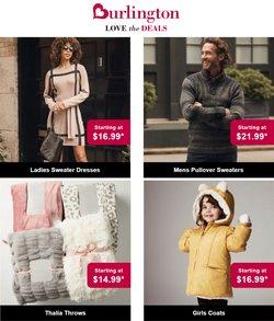 Clothing & Apparel deals in the Burlington Coat Factory catalog ( 6 days left)