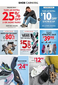 Clothing & Apparel offers in the Shoe Carnival catalogue in Salisbury NC ( 5 days left )
