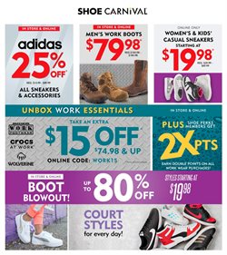 Shoe Carnival catalogue ( Expired )