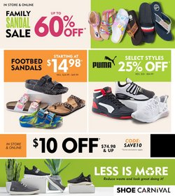 Clothing & Apparel deals in the Shoe Carnival catalog ( Expires today)