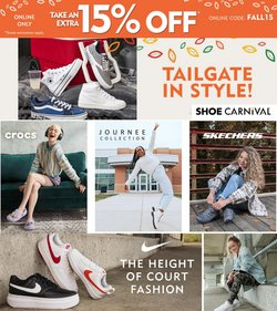 Shoe Carnival deals in the Shoe Carnival catalog ( Expires tomorrow)