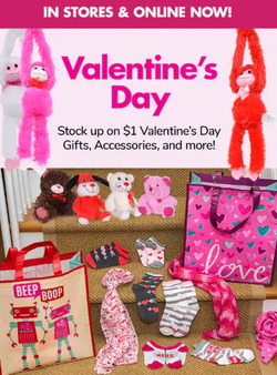 Valentine's Day deals in the Dollar Tree weekly ad in New York