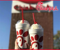Restaurants offers in the Chick-Fil-A catalogue in Concord NC ( More than a month )