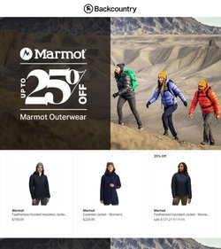 Sports deals in the Backcountry catalog ( Published today)