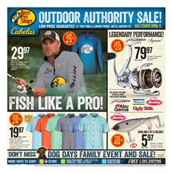 Sports deals in the Cabela's weekly ad in Idaho Falls ID