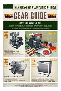 Sports deals in the Cabela's weekly ad in Anderson IN