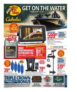 Sports offers in the Cabela's catalogue in Charleston WV ( 9 days left )