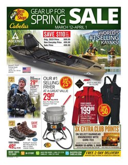 Sports offers in the Cabela's catalogue in Bowling Green KY ( Expires today )