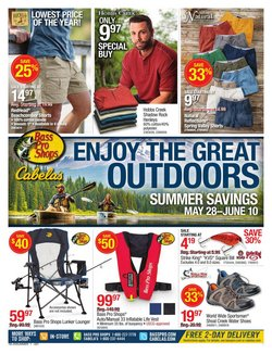 Sports offers in the Cabela's catalogue in Green Bay WI ( Published today )