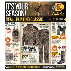 Sports offers in the Cabela's catalogue in Green Bay WI ( 15 days left )