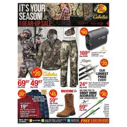 Sports offers in the Cabela's catalogue in Grand Junction CO ( Expires today )