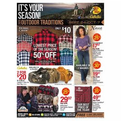 Sports offers in the Cabela's catalogue in Charleston WV ( 7 days left )