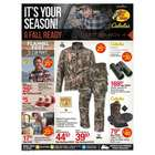 Sports offers in the Cabela's catalogue in Missoula MT ( 1 day ago )