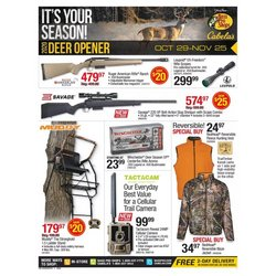 Sports offers in the Cabela's catalogue in Dayton OH ( Expires tomorrow )