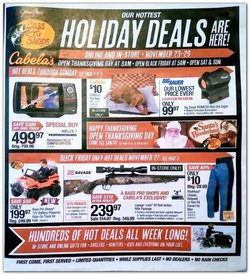 Sports offers in the Cabela's catalogue in Dayton OH ( 5 days left )