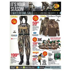 Cabela's catalogue ( 6 days left )