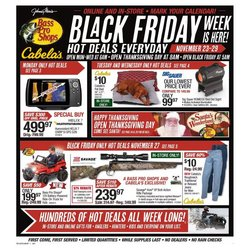 Sports offers in the Cabela's catalogue in Lake Charles LA ( Expires today )