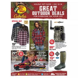 Cabela's catalogue ( Expired )