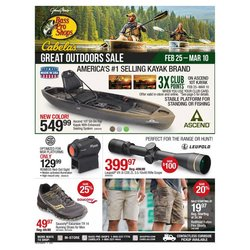 Cabela's catalogue ( 3 days left )