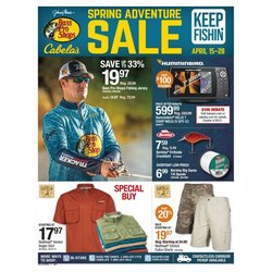 Sports offers in the Cabela's catalogue in Middletown OH ( 3 days ago )