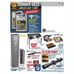 Sports deals in the Cabela's catalog ( Expires today)