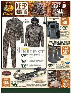 Sports deals in the Cabela's catalog ( 17 days left)