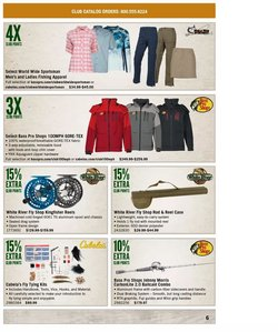 Sports deals in the Cabela's catalog ( 2 days left)